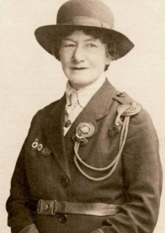 Agnes Baden-Powell - Portrait of Agnes Baden-Powell