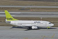 YL-BBE - B735 - Air Baltic