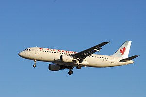 Air Canada Flight 624 - Image: Air Canada A320 C FTJP
