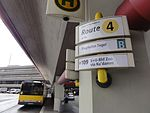 Airport Berlin-Tegel Otto Lilienthal bus stop 20140824.JPG