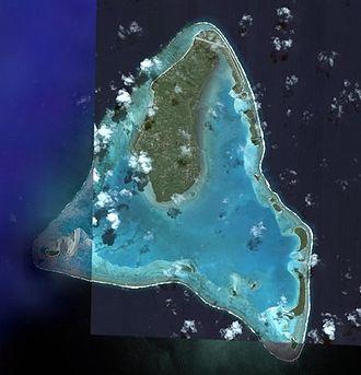 Aitutaki - NASA picture of Aitutaki