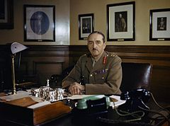 gen. Sir Alan Francis Brooke w 1942