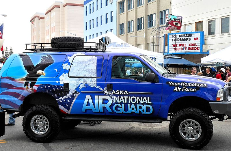 File:Alaska Air National Guard Truck in Fairbanks Alaska.JPG
