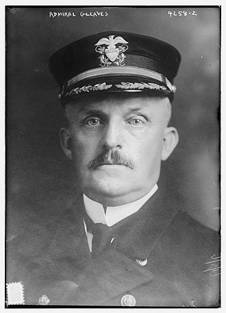Albert Gleaves - Gleaves in 1917