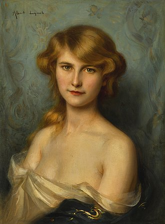 Albert Lynch - Image: Albert lynch a beautiful lady with red hair