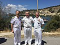 Alberto Maffeis, Georgios Tsogkas and Kevin Kovacich 160517-N-VK993-001 (26486144094).jpg