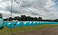 Aldenham Country Park event campsite field with tents and bunting.jpg