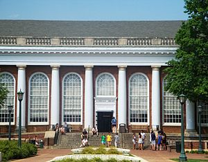 Alderman Library, University of Virgina, Charl...