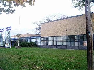 Alderwood Collegiate Institute High school in Alderwood, Etobicoke, Ontario, Canada