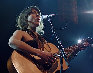 Alela Diane - Diane performing at Paradiso, Amsterdam in 2009