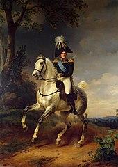 Equestrian Portrait of AlexanderI (1777–1825)
