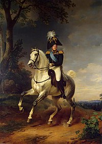 Alexander I of Russia by F.Kruger (1837, Hermitage).jpg