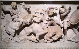 Alexander routs Persians on one of the long si...