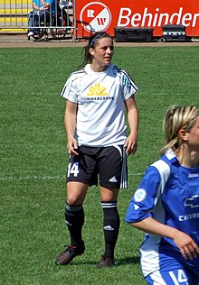 1bf2f655a Krieger with FFC Frankfurt in 2008