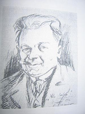 Ali Aaltonen - A 1916 sketch of Ali Aaltonen