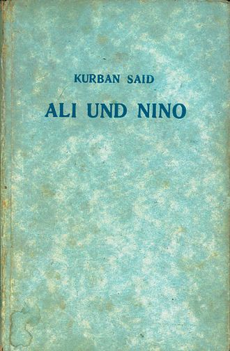 Ali and Nino - Image: Ali nino german 1937