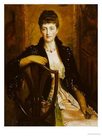 """Violin Concerto (Elgar) - Alice Stuart-Wortley, Elgar's """"Windflower"""", one of several women conjectured as the composer's muse"""