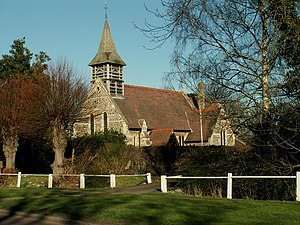 East Hanningfield - Image: All Saints; the parish church of East Hanningfield geograph.org.uk 684349