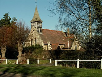 East Hanningfield - Image: All Saints; the parish church of East Hanningfield geograph.org.uk 684349