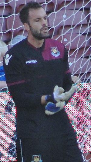 Manuel Almunia - Almunia with West Ham United in 2011