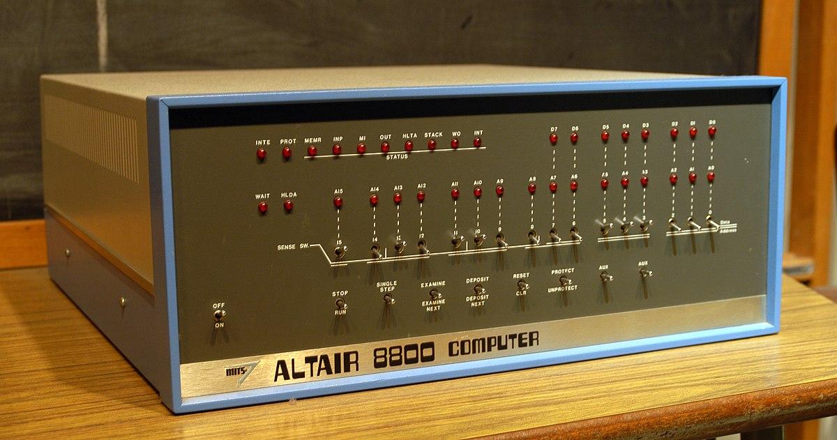 Altair 8800 — Вікіпедія
