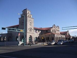 Alvarado Transportation Center - Image: Alvarado transportation frontage 2