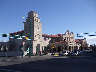Alvarado Transportation Center - Image: Alvarado transportation frontage 2