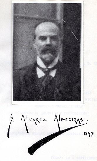 Germán Álvarez Algeciras - Image: Alvarez de Algeciras