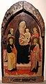 Ambito di bicci di lorenzo, madonna col bambino e santi, 1430-40 ca., da s. jacopo a voltiggiano.JPG