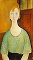 Amedeo Modigliani - Girl in a green blouse (1917).jpg