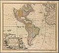 Americae mappa generalis, secundum legitimas projectionis stereographicae regulas relationesque recentissimas et observationes sociorum Acad. reg. sc. quae Parisiis est aliorumque auctorum nec non (4072634080).jpg