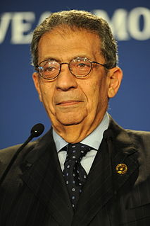 Amr Moussa politician from Egypt