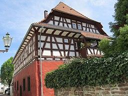 An der Stadtmauer in Karlsruhe