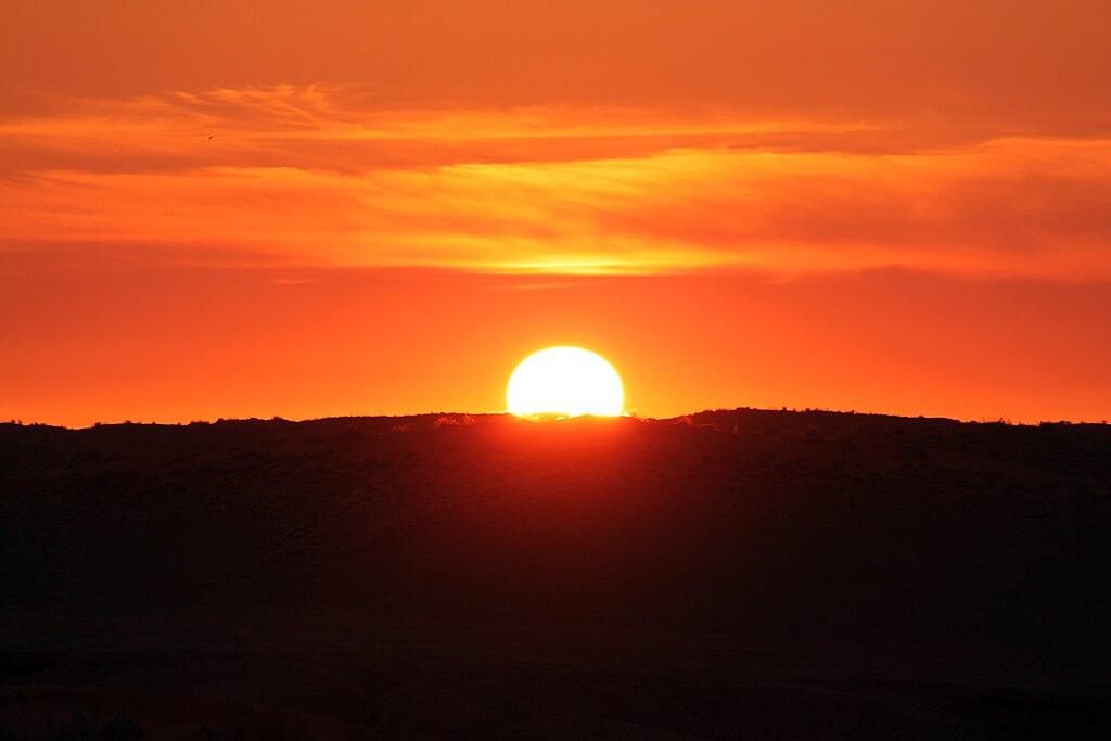 Anagoria Sonnenuntergang Namib