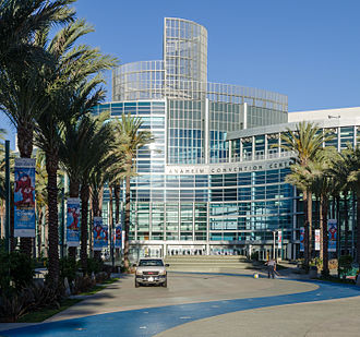 Anaheim Convention Center - Image: Anaheim Convention Center Back view 2013