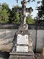 Ancemont (Meuse) cimetière, tombe de soldat B.JPG