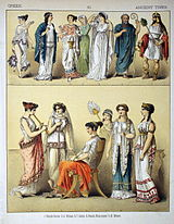 Ancient Times, Greek. - 010 - Costumes of All Nations (1882).JPG