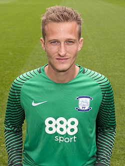 Lindegaard a Preston North End színeiben 2016-ban