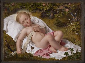 Andreas Müller (painter) - The Christ Child (1849), Walters Art Museum