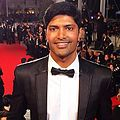 Andrew Govender on the red carpet at the Cannes Film Festival 2014..JPG