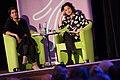 Angela Saini and Samira Ahmed at the Rosalind Franklin lecture.jpg