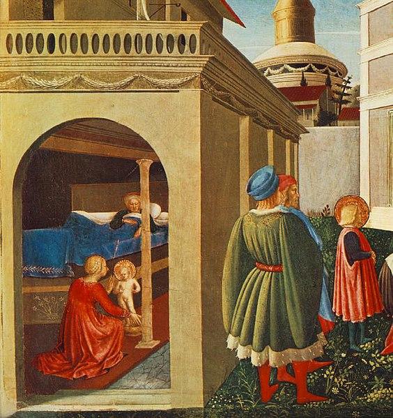 File:Angelico, nascita di san nicola, vaticano.jpg