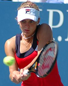 Anna Chakvetadze at the 2009 US Open 12.jpg