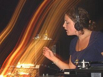 Annie Mac - Annie Mac in Brighton, 2006