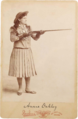 Annie Oakley by Alfred Brisbois, 1891-97.png