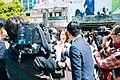 Announcement of New Era 'Reiwa' at Shibuya Station (49316778886).jpg