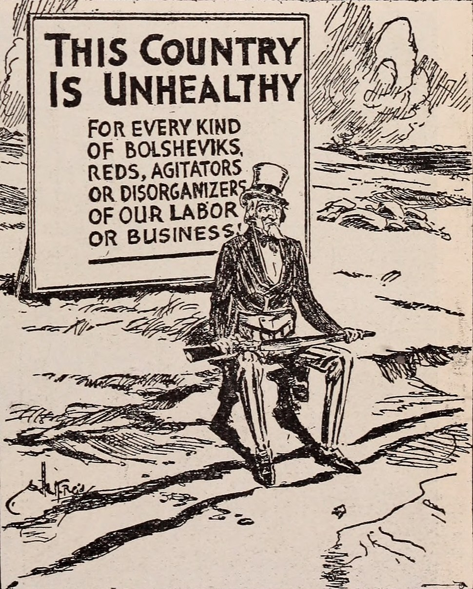 Anti-socialist propaganda WWI (cropped)