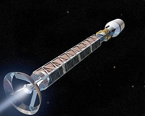 Beamed core antimatter propulsion - more efficient, but don't hold your breath!