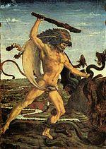 Antonio Pollaiuolo: Heraklo i Hidra, 15. stoljeće