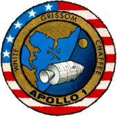 Missionsemblem Apollo 1